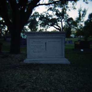 Monument for F. Trammel Crow at the Texas State Cemetery