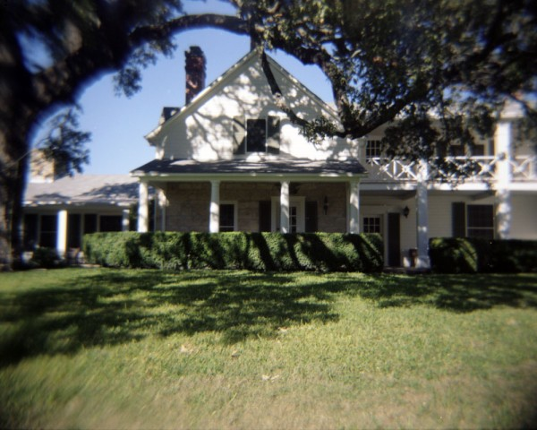 The Texas White House at the LBJ Ranch in Stonewall, Texas