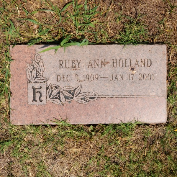 Ruby Ann Holland