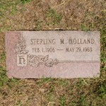 Union Terminal Railroad Supervisor Sterling M. Holland