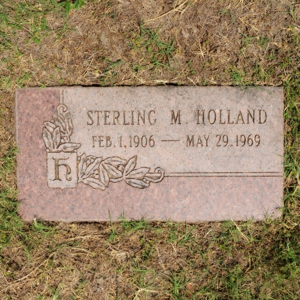 Dallas Police Officer Sterling M. Holland