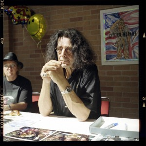 Actor Peter Mayhew at the Sci-Fi Expo in October 2005 (photo by Mr. Holga)