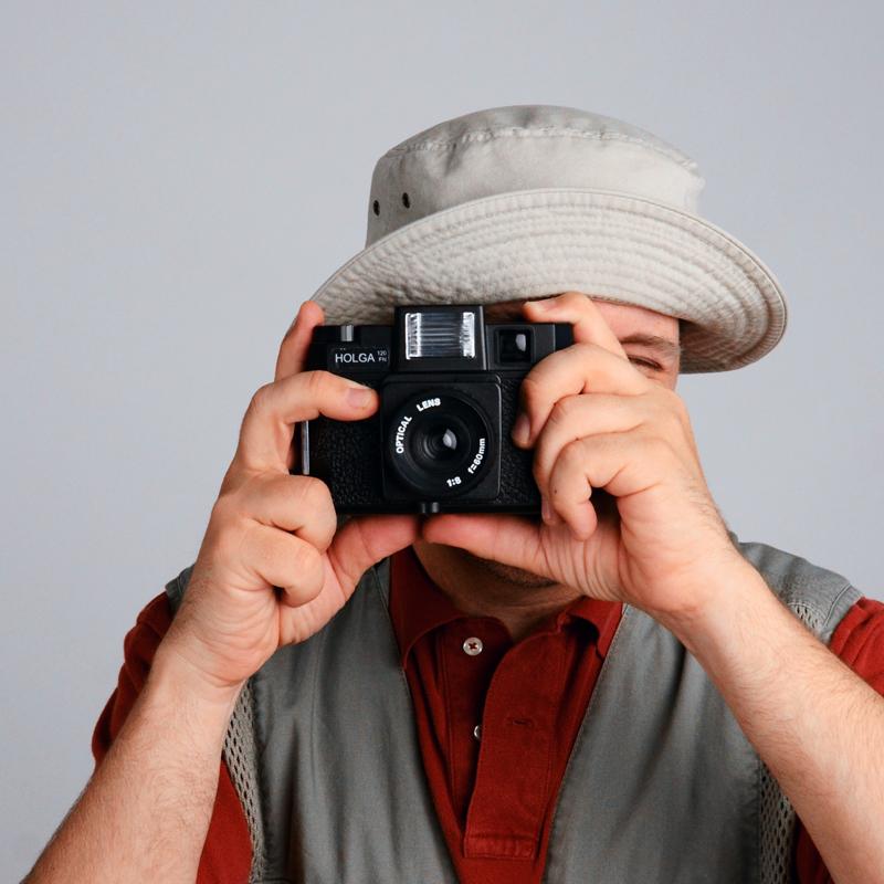 Mr. Holga #Selfie